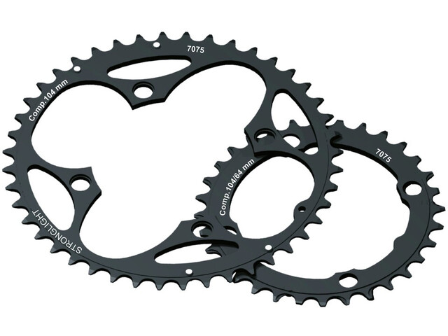 STRONGLIGHT MTB 104/64 Chainring Inner 2x10-speed black